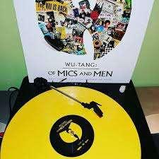 Album Vinyle Jaune Wu-Tang: Of Mics And Men