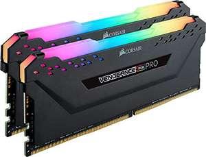 Kit barrettes mémoire RAM DDR4 Corsair Vengeance RGB PRO - 16Go (2x8Go), 3200MHz, C16