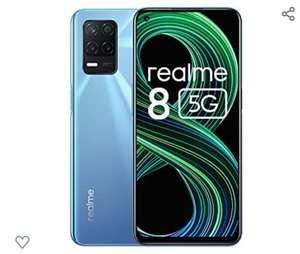 """Smartphone 6,4"""" Realme 8 5G - 90Hz, Dimensity 700 5G, RAM 4Go, ROM 64Go, NFC"""