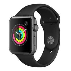 Montre connectée Apple Watch Series 3 - 42mm alu gris sidéral bracelet noir