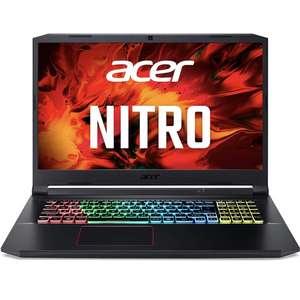 """PC Portable 17.3"""" Acer Nitro 5 - I5-10300H, 8 Go de Ram, 512 Go SSD, RTX 3060"""