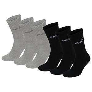 Lot de 6 paires de Chaussettes de Sport Puma pour Homme