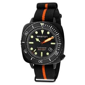 Montre automatique Briston Clubmaster Diver Pro Acétate pour Homme - Noir (dornier.fr)