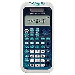 Calculatrice Texas Instrument Collège Plus TBL/1E2