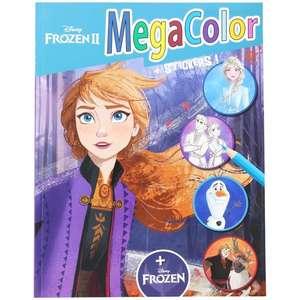 Livre de coloriage et autocollants MegaColor Disney (Différents modèles)