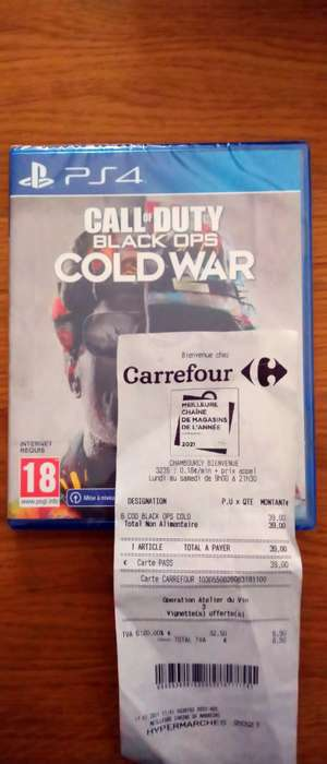 Call of Duty: Black Ops Cold War sur PS4 (Chambourcy 78)