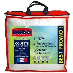 Couette légère anti acariens Dodo Douce Quiétude - 140 x 200 cm