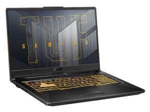 "PC portable 17.3"" Asus TUF Gaming A17-TUF766QR-HX039 - full HD 144 Hz, R7-5800H, RTX-3070, 16 Go de RAM, 512 Go en SSD, sans OS"
