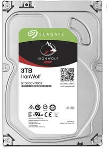 """Disque dur interne 3.5"""" Seagate IronWolf (ST3000VN007) - 3 To"""