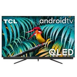 "TV 65"" TCL 65C811 avec Barre de son Onkyo intégrée - QLED, 4K UHD, 100 Hz, HDR 10+, Dolby Vision & Atmos, Android TV"