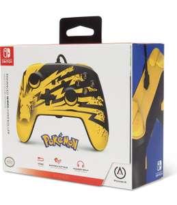 Manette filaire PowerA Pokémon Pikachu pour Switch