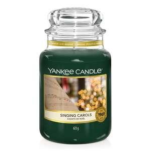 Sélection de bougies Yankee Candle en promotion - Ex : grande jarre à partir de 14.95€