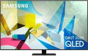 "TV 55"" Samsung QE55Q80T 2020 - 4K UHD, HDR10+, QLED, 100 Hz, Smart TV (frontaliers Suisse)"