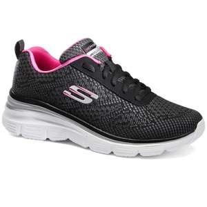 Chaussures Skechers Flex Appeal - noir/rose (du 36 au 40)