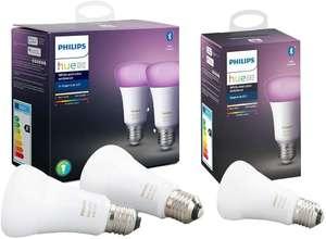 Pack de 3 ampoules Philips Hue E27 White & Color V4