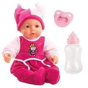 Poupée Bayer Design Hello Baby - 46 cm, corps souple