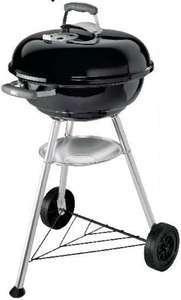 Barbecue charbon de bois Weber Compact Kettle ø 57 cm (via 50€ sur le compte fidélité) - Bugnicourt (59)