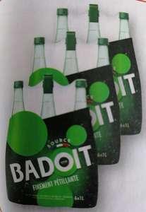 Lot de 3 packs de 6 bouteilles d'eau gazeuse Badoit - 3 x 6L