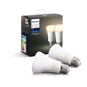 Pack de 2 ampoules LED Philips Hue White - E27