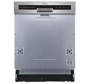 Lave vaisselle semi-encastrable QiLive 600070362 - 14 couverts, 60 cm, 44 dB, 8 programmes