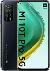 "Smartphone 6.67"" Xiaomi Mi 10T Pro 5G - full HD+, SnapDragon 865, 8 Go de RAM, 256 Go, argent ou noir (via ODR de 100€)"
