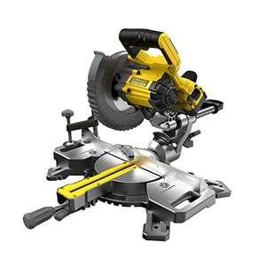 Sélection d'outils 18v Stanley FATMAX V20 en Promotion - Ex: Scie radiale à onglets sans-fil - 190 mm, 18v avec Chargeur & Batterie 4Ah
