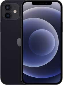 "Smartphone 6.1"" Apple iPhone 12 5G - full HD+ Retina, A14, 4 Go de RAM, 128 Go, noir (+77.7€ en Rakuten Points)"