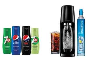 Machine à gazéifier Sodastream Spirit - Coffret découverte Pepsi