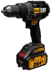 Perceuse brushless cat dx12 + coffret 45 embouts