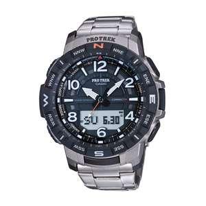 Montre Casio PRT-B50T-7ER PRO TREK bracelet titane