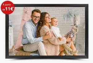 Photo sur toile personnalisée - 40x30cm (Frais de port inclus)