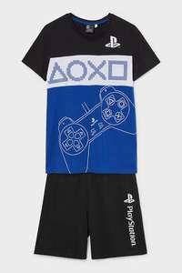 Pyjashort Coton Bio - PlayStation ou Xbox
