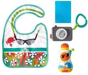 Coffret Fisher-Price Mini-Touriste avec 4 jouets d'imitation pour la motricité fine
