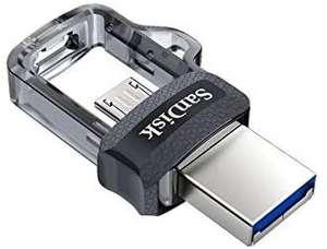 Clé à double connectique SanDisk Ultra Dual Drive (OTG) - USB 3.0, 32Go