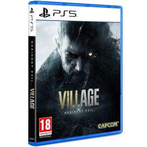 Resident Evil Village sur PS5 (34,99€ avec RAKUTEN5) + 1,20€ de Rakuten Points