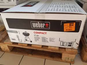 Barbecue à charbon Weber Compact Kettle 47 cm - Limours (91)