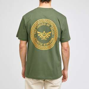 Tee-shirt The Legend of Zelda Hyrule Kingdom - vert (du M au XXL)