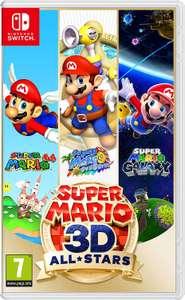 Super Mario 3D All-Stars sur Nintendo Switch