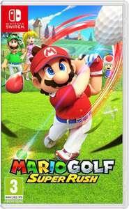 Mario Golf: Super Rush sur Nintendo Switch + sélections Jeux Mario