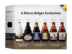 Coffret de 6 bières belges exclusives - 6x33cl