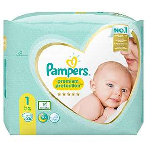 Pampers Premium Protection Taille 1 - 26 couches