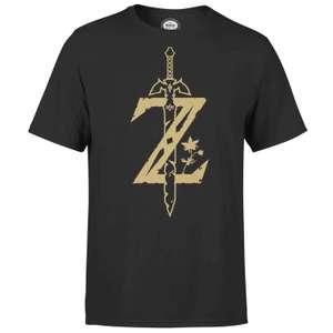 Tee-shirt Zelda Hyrule + Mug Zelda au choix