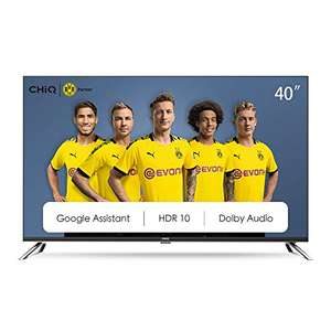 """TV LED 40"""" CHiQ L40H7A - Full HD, Android TV, WiFi, HDR10 (Vendeur tiers)"""