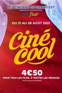 [Grand Est] Place de Cinéma à 4,50€ dans une sélection de cinémas (hors majoration séances 3D) - Ex : Cinéma UGC Ciné Cité Strasbourg (67)