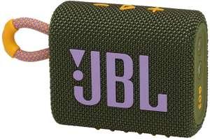 Enceinte Bluetooth JBL Go 3 - étanche IP67, vert