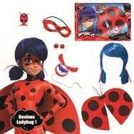 Coffret Costume Bandai Ladybug Miraculous + accessoires