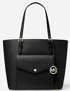 Sélection d'articles Mickael Kors en promotion - Ex : sac cabas Jet Set (avec poche, en cuir, différents coloris)