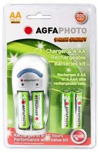 Chargeur de Piles AGFA avec 4 piles AA