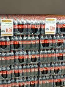 Bouteille de Coca Cola ou Fanta Orange 1L - Promo Marché Bétheny (51)