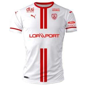 Maillot de football Puma ASNL (AS Nancy Lorraine) 2020/2021 - Domicile ou Extérieur (laboutique.asnl.net)